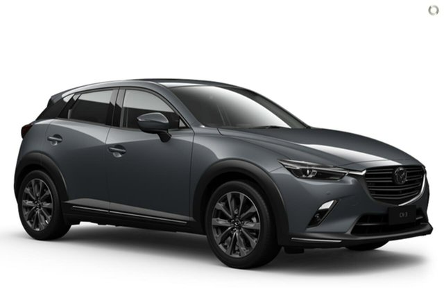 New Mazda CX-3 DK4W7A Akari SKYACTIV-Drive i-ACTIV AWD Waitara, 2021 Mazda CX-3 DK4W7A Akari SKYACTIV-Drive i-ACTIV AWD Grey 6 Speed Sports Automatic Wagon