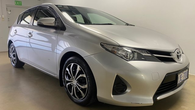Used Toyota Corolla ZRE182R Ascent Phillip, 2012 Toyota Corolla ZRE182R Ascent Silver 7 Speed CVT Auto Sequential Hatchback