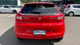 2017 Suzuki Baleno EW GL Red 4 Speed Automatic Hatchback