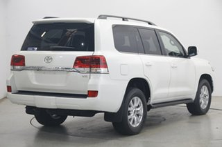 2021 Toyota Landcruiser VDJ200R VX Pearl White 6 Speed Sports Automatic Wagon