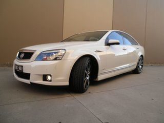 2011 Holden Caprice WM II V White Hot Pearl 6 Speed Sports Automatic Sedan.