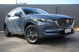 2021 Mazda CX-8 KG2WLA Sport SKYACTIV-Drive FWD Polymetal Grey 6 Speed Sports Automatic Wagon.