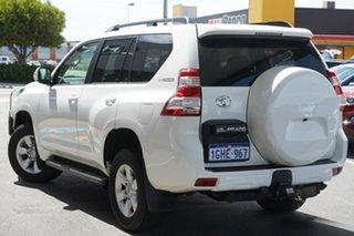 2017 Toyota Landcruiser Prado GDJ150R GXL White 6 Speed Sports Automatic Wagon.