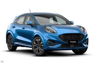 2020 Ford Puma JK 2020.75MY ST-Line Blue 7 Speed Sports Automatic Dual Clutch Wagon.