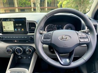 2021 Hyundai Venue QX.V3 MY21 Elite Typhoon Silver 6 Speed Automatic Wagon