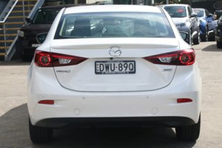 2018 Mazda 3 BN MY18 SP25 Astina (5Yr) Snowflake White Pearl 6 Speed Automatic Sedan