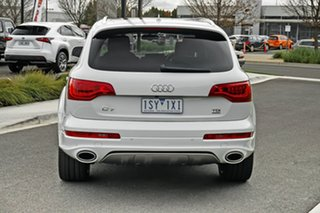 2015 Audi Q7 4L MY15 TDI Tiptronic Quattro White 8 Speed Sports Automatic Wagon