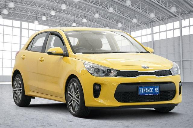 Used Kia Rio YB MY19 Sport Victoria Park, 2019 Kia Rio YB MY19 Sport Yellow 6 Speed Automatic Hatchback