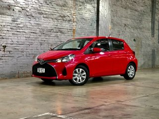 2015 Toyota Yaris NCP130R Ascent Cosmopolitan 4 Speed Automatic Hatchback.
