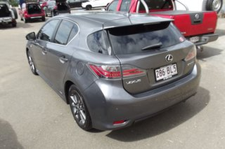2012 Lexus CT ZWA10R CT200h F Sport Grey 1 Speed Constant Variable Hatchback Hybrid.