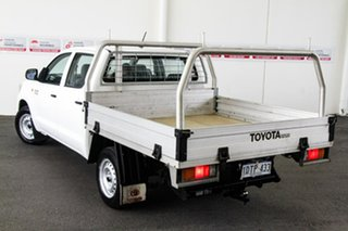 2011 Toyota Hilux KUN16R MY12 SR Glacier White 5 Speed Manual Dual Cab Pick-up