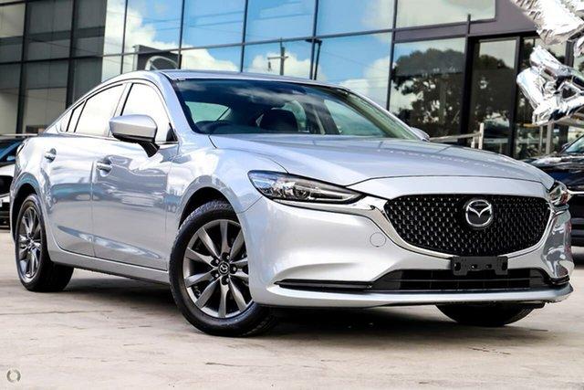 New Mazda 6 GL1033 Sport SKYACTIV-Drive Waitara, 2021 Mazda 6 GL1033 Sport SKYACTIV-Drive Silver 6 Speed Sports Automatic Sedan