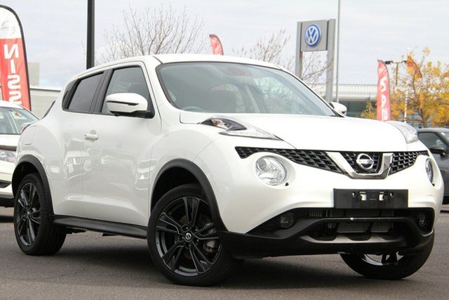 Used Nissan Juke F15 MY18 Ti-S X-tronic AWD Essendon Fields, 2019 Nissan Juke F15 MY18 Ti-S X-tronic AWD White 1 Speed Constant Variable Hatchback