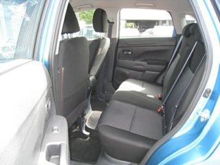 2012 Mitsubishi ASX XA MY12 (2WD) Blue Continuous Variable Wagon