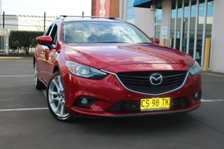 2013 Mazda 6 6C Atenza Red 6 Speed Automatic Wagon.