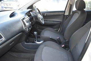 2012 Hyundai i20 PB MY12 Active White 4 Speed Automatic Hatchback
