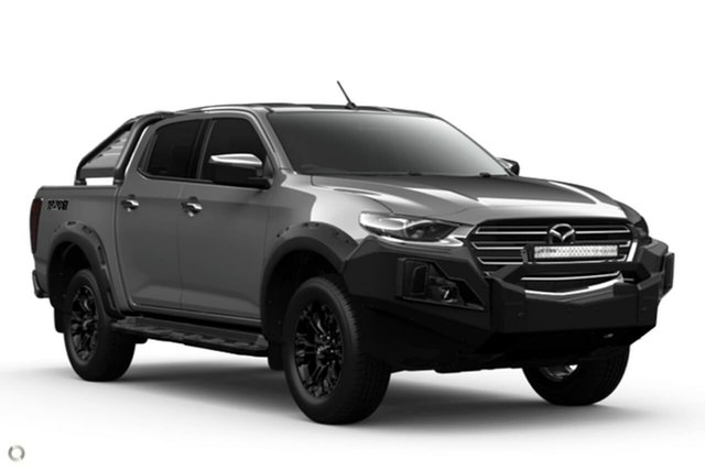 New Mazda BT-50 TFS40J Thunder Waitara, 2021 Mazda BT-50 TFS40J Thunder Grey 6 Speed Sports Automatic Utility