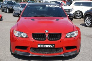 2012 BMW M3 E92 MY0911 M-DCT Red 7 Speed Sports Automatic Dual Clutch Coupe.
