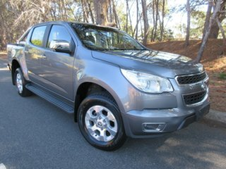 2015 Holden Colorado RG MY15 LTZ Crew Cab Grey 6 Speed Manual Utility.