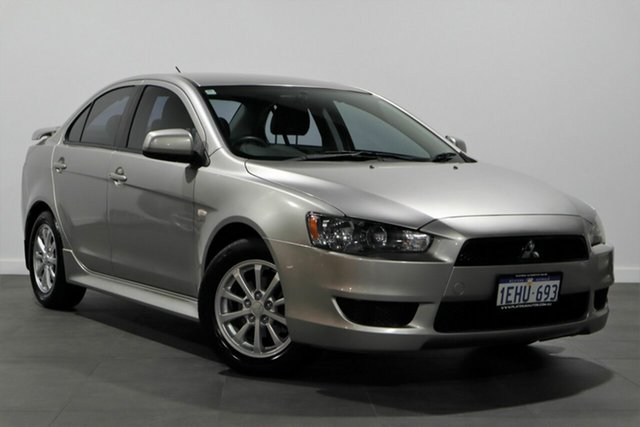 Used Mitsubishi Lancer CJ MY12 Platinum Bayswater, 2012 Mitsubishi Lancer CJ MY12 Platinum Silver 5 Speed Manual Sedan