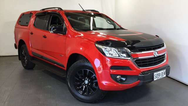 Used Holden Colorado RG MY18 Z71 Pickup Crew Cab Elizabeth, 2017 Holden Colorado RG MY18 Z71 Pickup Crew Cab Red 6 Speed Sports Automatic Utility