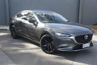 2021 Mazda 6 GL1033 GT SP SKYACTIV-Drive Machine Grey 6 Speed Sports Automatic Wagon.