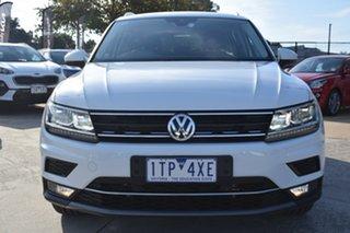 2018 Volkswagen Tiguan 5N MY18 162TSI DSG 4MOTION Sportline White 7 Speed.