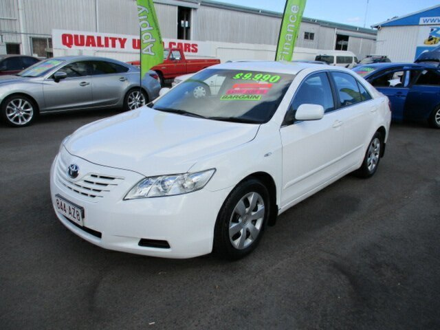 Used Toyota Camry Woodridge, 2008 Toyota Camry ALTISE White 4 Speed Automatic Sedan