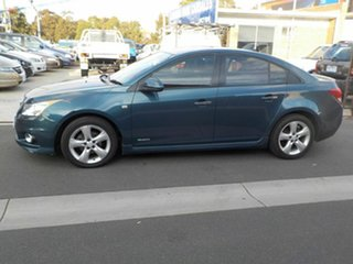 2011 Holden Cruze JH SRi V Blue 6 Speed Automatic Sedan