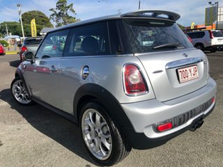 2008 Mini Hatch R56 Cooper S Silver 6 Speed Sports Automatic Hatchback