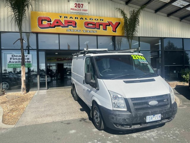 Used Ford Transit VM Low (SWB) Traralgon, 2008 Ford Transit Camper VM 110T280 (SWB) White 5 Speed Manual Van