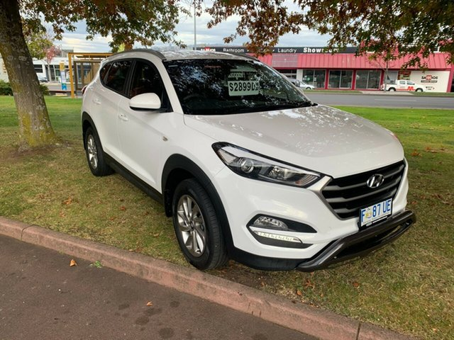 Used Hyundai Tucson TL2 MY18 Active 2WD Launceston, 2017 Hyundai Tucson TL2 MY18 Active 2WD White 6 Speed Sports Automatic Wagon