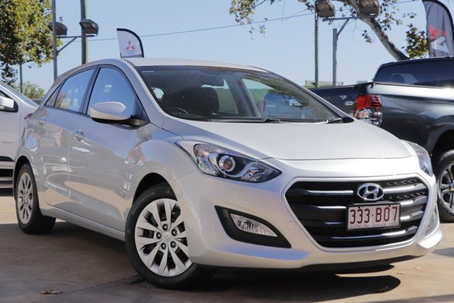 Used Hyundai i30 GD4 Series II MY17 Active Toowoomba, 2016 Hyundai i30 GD4 Series II MY17 Active Silver 6 Speed Sports Automatic Hatchback