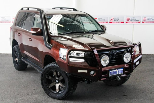 Pre-Owned Toyota Landcruiser VDJ200R LC200 VX (4x4) Myaree, 2018 Toyota Landcruiser VDJ200R LC200 VX (4x4) Copper Brown 6 Speed Automatic Wagon