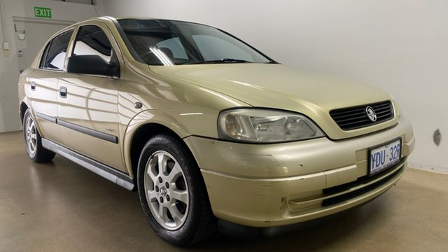 Used Holden Astra TS Classic Phillip, 2005 Holden Astra TS Classic Gold 4 Speed Automatic Hatchback