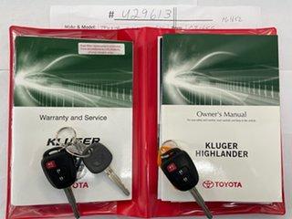 2015 Toyota Kluger GSU50R GX 2WD Grey 6 Speed Sports Automatic Wagon.
