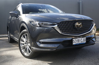 2021 Mazda CX-8 KG2W2A Asaki SKYACTIV-Drive FWD Machine Grey 6 Speed Sports Automatic Wagon
