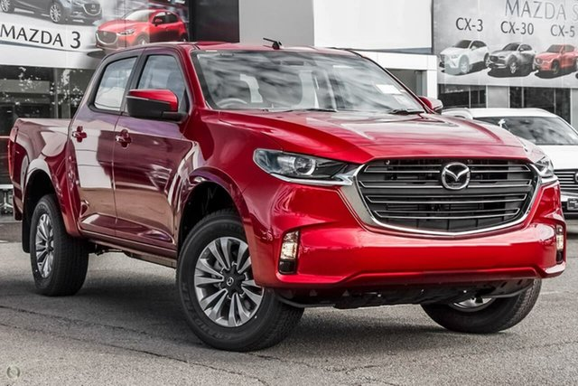 New Mazda BT-50 TFS40J XT Waitara, 2020 Mazda BT-50 TFS40J XT Red 6 Speed Manual Utility