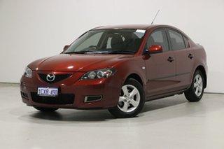 2008 Mazda 3 BK MY06 Upgrade Neo Red 4 Speed Auto Activematic Sedan.
