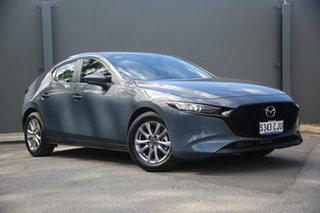 2020 Mazda 3 BP2H7A G20 SKYACTIV-Drive Pure Polymetal Grey 6 Speed Sports Automatic Hatchback.