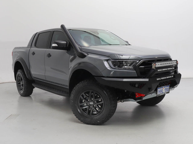 Used Ford Ranger PX MkIII MY20.25 Raptor 2.0 (4x4), 2020 Ford Ranger PX MkIII MY20.25 Raptor 2.0 (4x4) Grey 10 Speed Automatic Double Cab Pick Up