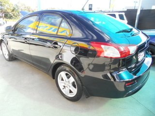 2008 Mitsubishi Lancer CJ MY09 ES Sportback Black 6 Speed Constant Variable Hatchback