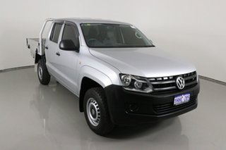 2014 Volkswagen Amarok 2H MY14 TSI300 (4x2) Silver 6 Speed Manual Dual Cab Chassis