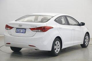 2012 Hyundai Elantra MD2 Active White 6 Speed Sports Automatic Sedan