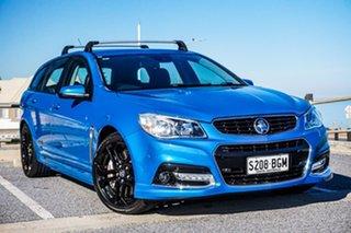 2015 Holden Commodore VF MY15 SS V Sportwagon Blue 6 Speed Sports Automatic Wagon.