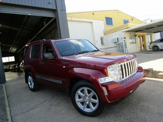 2010 Jeep Cherokee KK MY10 Limited Red 4 Speed Automatic Wagon.