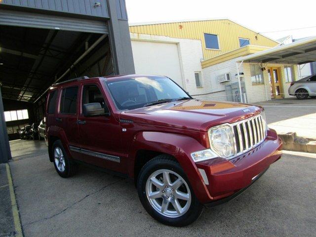 Used Jeep Cherokee KK MY10 Limited Moorooka, 2010 Jeep Cherokee KK MY10 Limited Red 4 Speed Automatic Wagon
