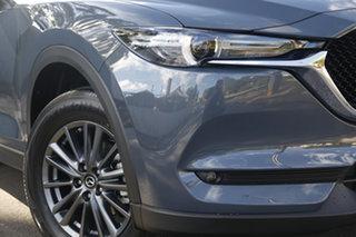 2021 Mazda CX-5 KF4WLA Maxx SKYACTIV-Drive i-ACTIV AWD Sport Polymetal Grey 6 Speed Sports Automatic.