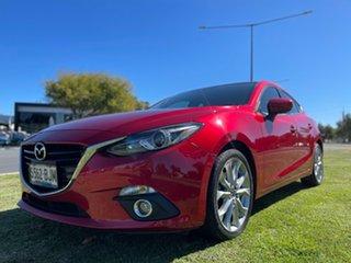 2015 Mazda 3 BM5438 SP25 SKYACTIV-Drive GT Soul Red 6 Speed Sports Automatic Hatchback.