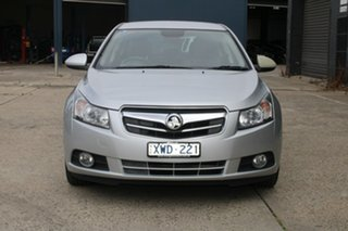 2010 Holden Cruze JG CDX Silver 6 Speed Automatic Sedan.